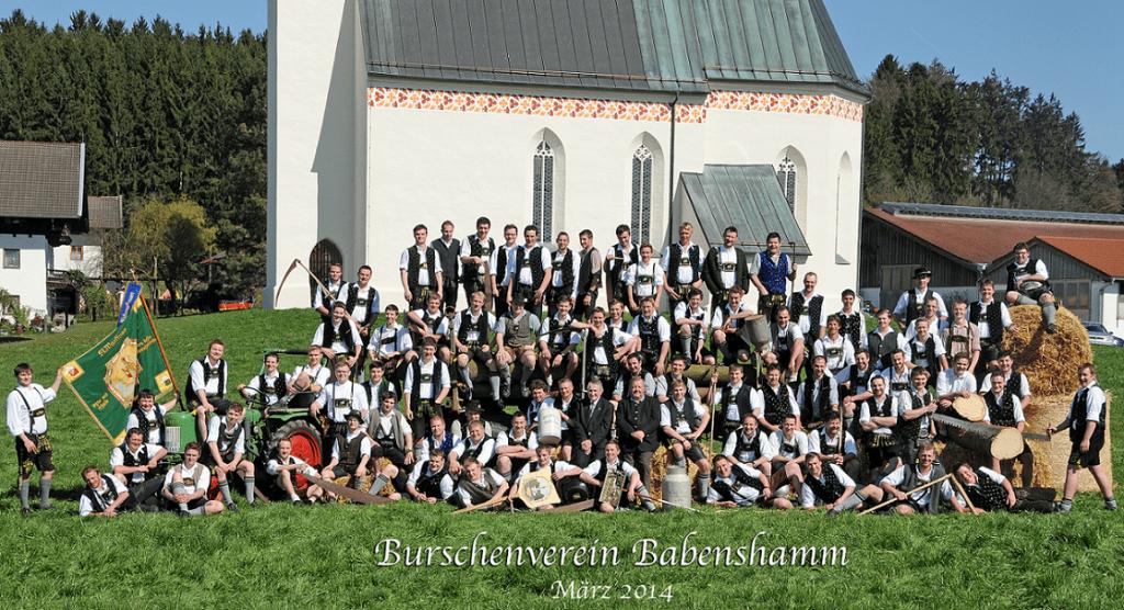 Gruppenfoto der Mitglieder im März 2014