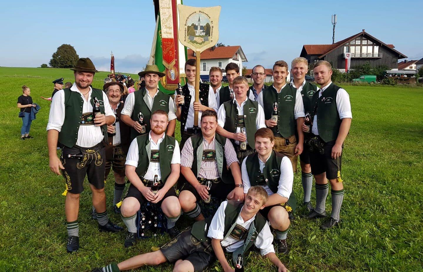 Unser Verein beim Festeinzug vom Haager Herbstfest 2018